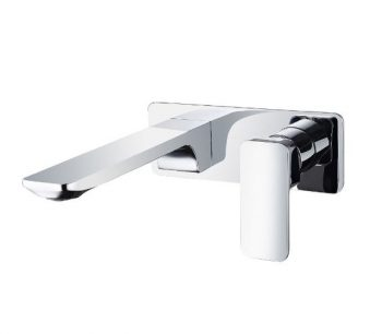 STREAMLINE AXUS WALL MOUNTED SET SATIN NICKEL