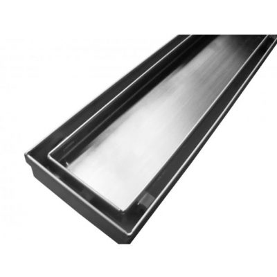 OSTAR TILE INSERT CHANNEL WASTE CHROME Product Image 1