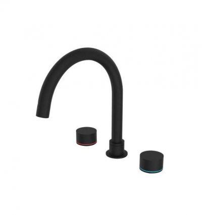 NERO KARA BATH SET MATTE BLACK Product Image 1