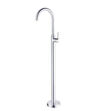NERO DOLCE BATH FILLER CHROME