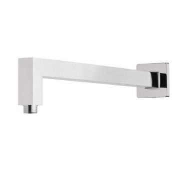 NERO SQUARE WALL MOUNTED SHOWER ARM CHROME