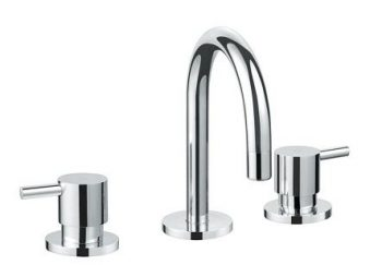 AUSSIELIFE PIN BASIN SET CHROME