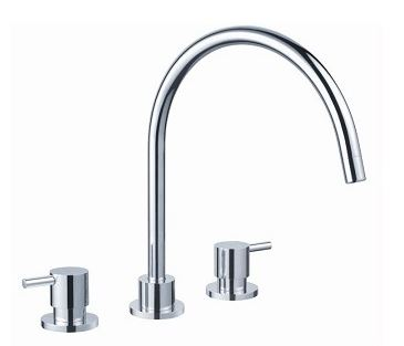 AUSSIELIFE PIN SINK SET CHROME Product Image 1