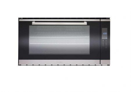 TECHNIKA 90CM BUILT IN OVEN WITH TOUCH CONTROL AND BLACK GLASS FRONT