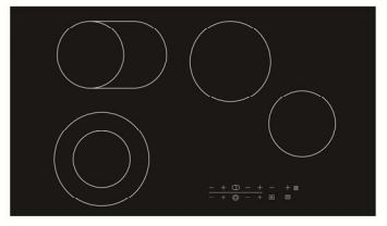 TISIRA 90CM CERAMIC COOKTOP WITH TOUCH CONTROL Product Image 1
