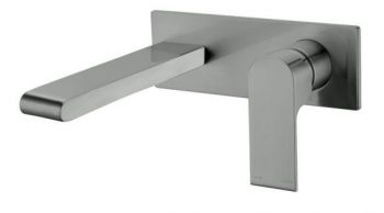 NERO VITRA WALL MOUNTED SET GUN METAL GREY