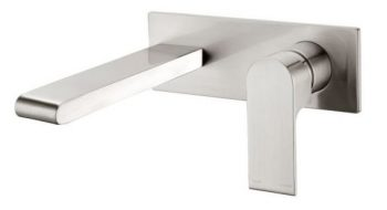 NERO VITRA WALL MOUNTED SET BRUSHED NICKEL