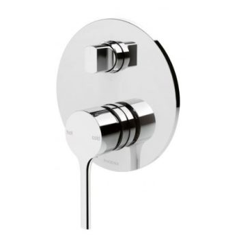 PHOENIX VIVID SLIMLINE OVAL SHOWER / BATH DIVERTER MIXER CHROME