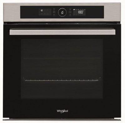 WHIRLPOOL 6TH SENSE 60CM BUILT IN PYROLITIC OVEN Product Image 1