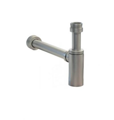 AUSTWORLD 40MM BOTTLE TRAP BRUSHED NICKEL