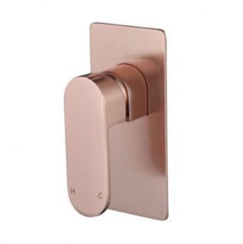 MODERN NATIONAL EVA MINI WALL MIXER ROSE GOLD