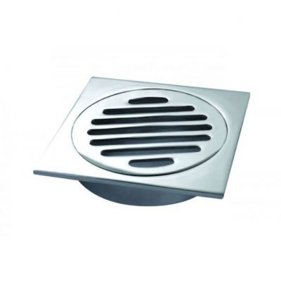 OSTAR FLOOR GRATE 100MM CHROME
