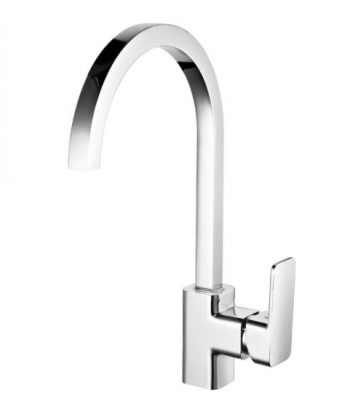 STREAMLINE AXUS SINK MIXER WITH ARCHED GOOSENECK CHROME Product Image 1