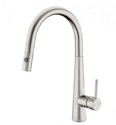 NERO DOLCE SINK MIXER WITH PULL OUT VEGGIE SPRAY BRUSHED NICKEL