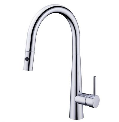 NERO DOLCE SINK MIXER WITH PULL OUT VEGGIE SPRAY CHROME