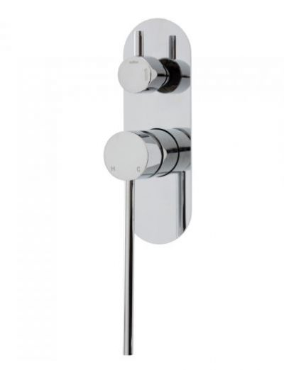 FIENZA ISABELLA CARE WALL MIXER WITH DIVERTER CHROME