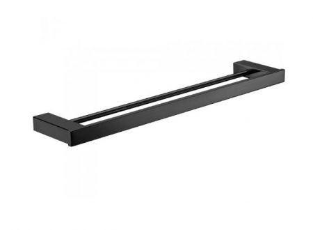 FIENZA KOKO DOUBLE TOWEL RAIL 810MM MATTE BLACK