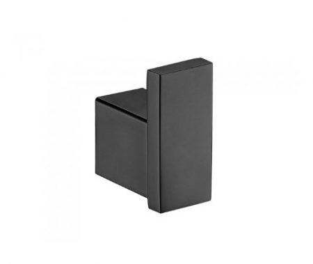 FIENZA KOKO ROBE HOOK MATTE BLACK