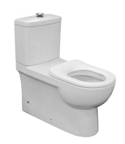 JOHNSON SUISSE LIFE ASSIST BACK TO WALL TOILET SUITE Product Image 1