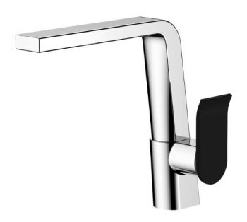 FIENZA LINCOLN SINK MIXER MIXED FINISH