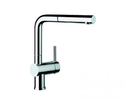 BLANCO LINUS PULL OUT SINK MIXER CHROME