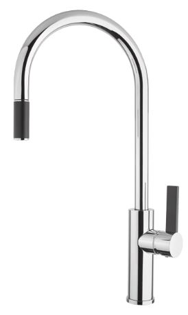 ABEY ARMANDO VICARIO LUZ SINK MIXER WITH PULL OUT CHROME Product Image 1