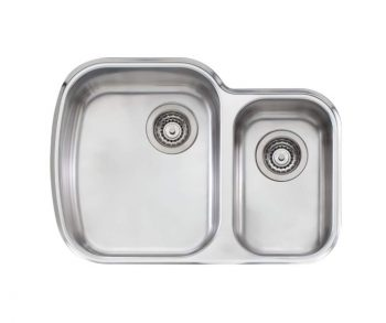 OLIVERI MONET ONE AND HALF BOWL UNDERMOUNT SINK - RHB & LHB AVAILABLE