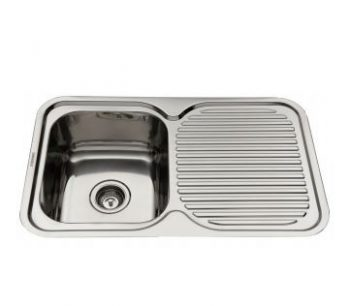 EVERHARD NUGLEAM SINGLE BOWL SINK WITH RIGHT HAND DRAINER Product Image 1
