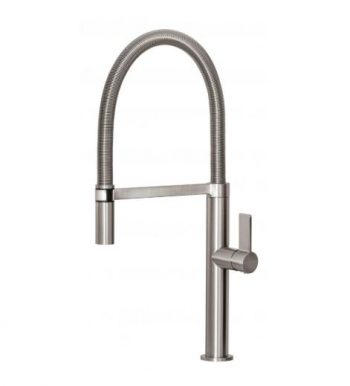 PHOENIX PRIZE FLEXIBLE COIL SINK MIXER BRUSHED NICKEL Product Image 1