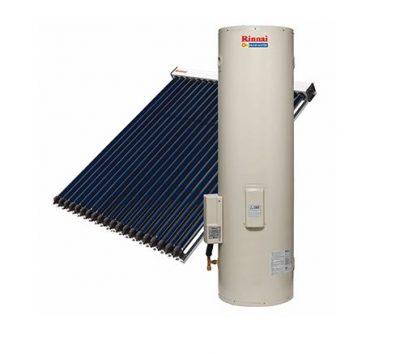 RINNAI SUNMASTER EVACUATED TUBE SOLAR SYSTEM