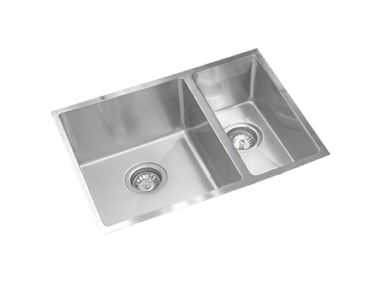 EVERHARD SQUARELINE PLUS ONE AND HALF BOWL UNDERMOUNT SINK Product Image 1