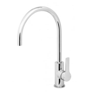 PHOENIX SUBI SINK MIXER 200MM GOOSENECK CHROME