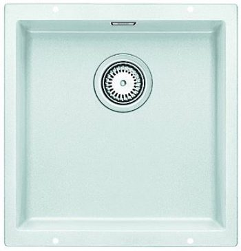 BLANCO SUBLINE 400 SILGANIT UNDERMOUNT SINK WHITE Product Image 1