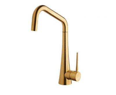 ABEY ARMANDO VICARIO TINK SINK MIXER BRUSHED GOLD Product Image 1