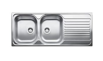 BLANCO TIPO DOUBLE BOWL SINK WITH DRAINER – RHB & LHB AVAILABLE Product Image 1