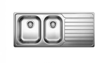 BLANCO DINAS ONE AND THREE QUARTER BOWL SINK WITH DRAINER – RHB & LHB AVAILABLE Product Image 1