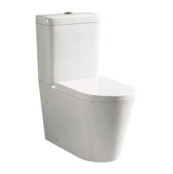 Ceramic Exchange Flinders Rimless Toilet Suite with S/Close Seat