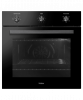 HAIER 60CM BLACK GLASS 66L, 4 FUNCTION OVEN WITH MECHANICAL TIMER HWO60S4LMB2 Product Image 2