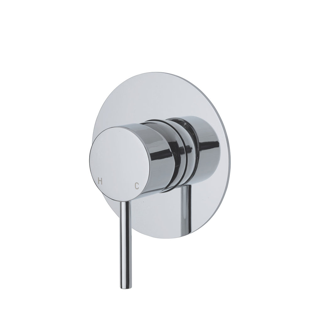 Fienza Cali Wall Mixer with Large Round Plate