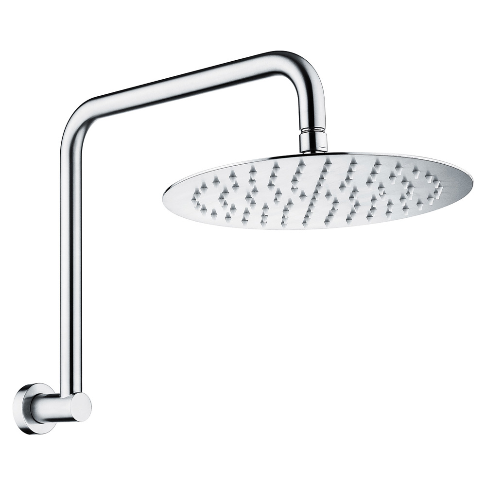 Fienza Cali 250mm Shower head and High Rise arm