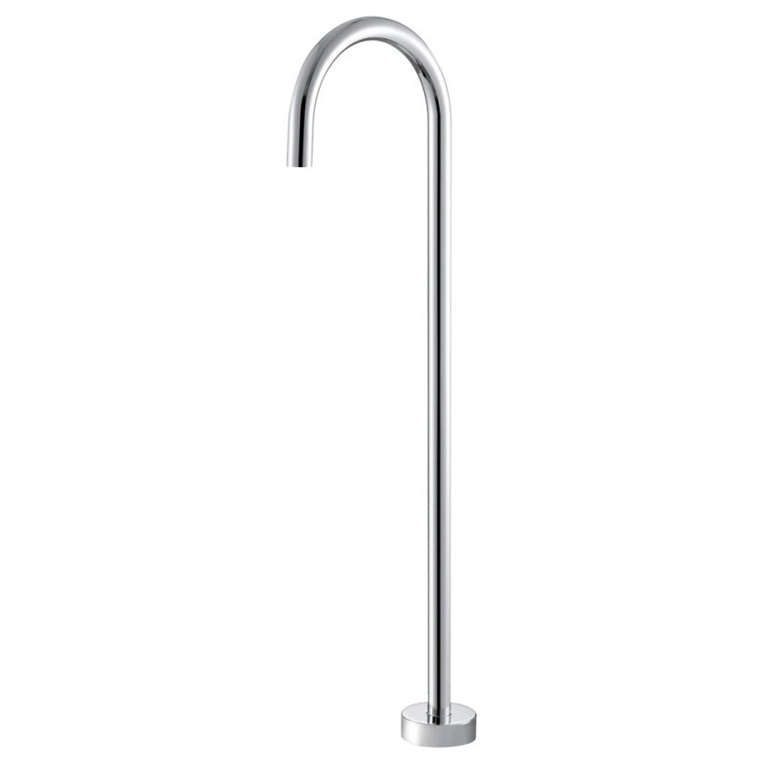 Fienza Cali Freestanding Bath Filler Chrome Product Image 1