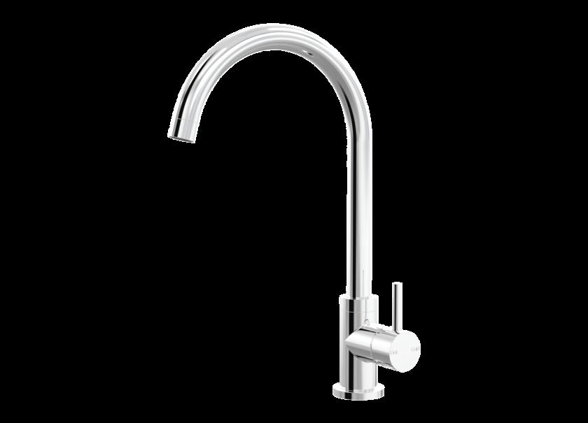 Par Taps Lugano Sink Gooseneck Mixer – Swivel Product Image 1
