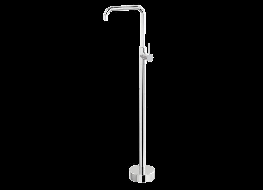 Par Taps Lugano Floor Bath Filler 90 Degree Mixer Product Image 1