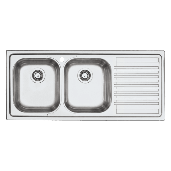 $299.00 - Abey - B-Fast Double Bowl and Drainer