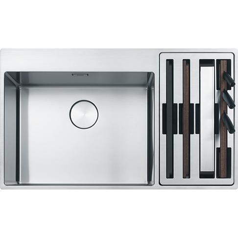 Box Center BWX 220-54/27 SBR Stainless Steel Sink