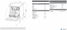 60cm Freestanding Dishwasher (Black Stainless Steel) Product Image 2