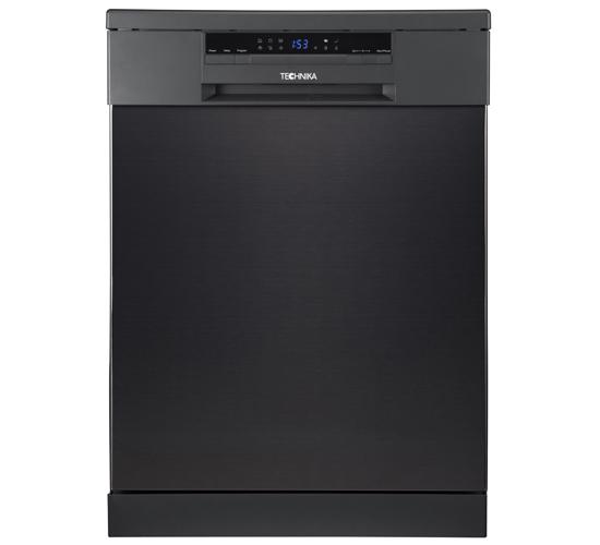 60cm Freestanding Dishwasher (Black Stainless Steel)