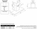 90cm stainless steel canopy rangehood Product Image 3