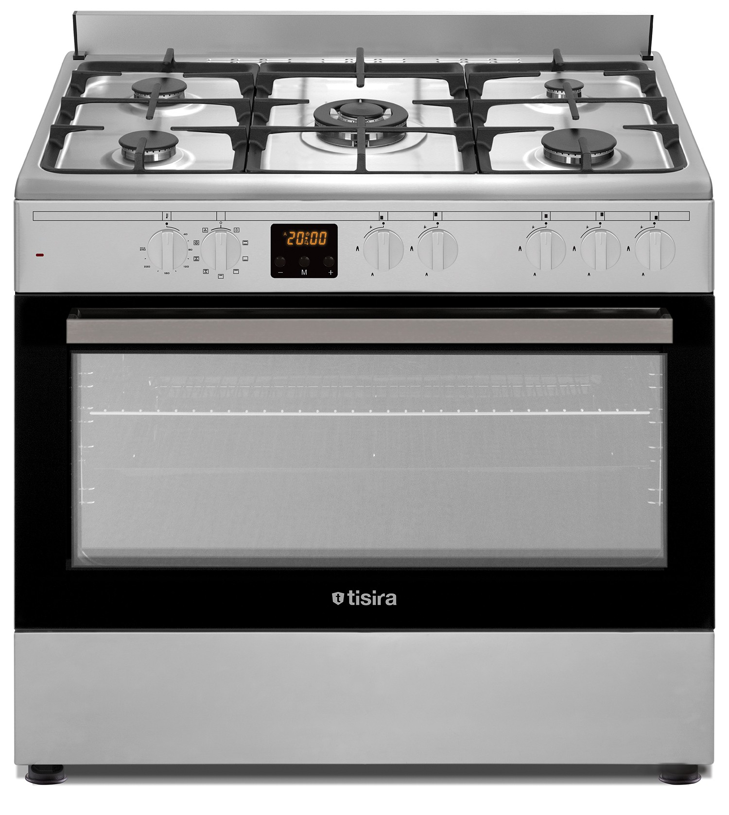 90cm Dual Fuel Upright Cooker