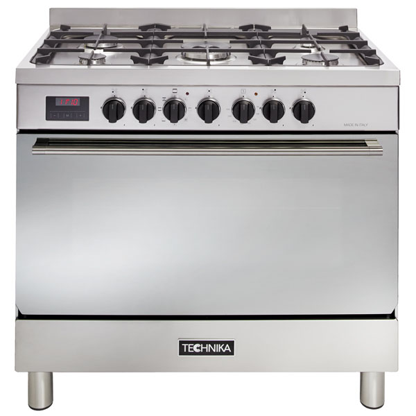 90cm Dual Fuel Oven With Adjustable Feet